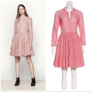 COMING SOON Maje Rayani pink eyelet dress 3 (US L)